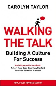 WALKING THE TALK BOOK JACKET