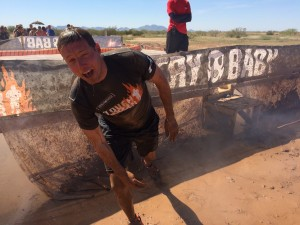 Will Dean on Tough Mudder course
